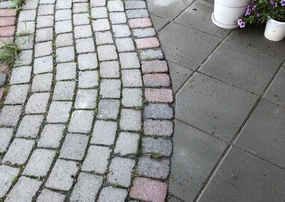 Lägga marksten Umeå - Trädklippet